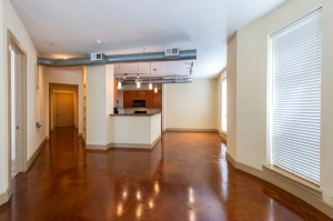 Two Bedroom Apartments for Rent in Houston, TX - Apartment Living Room, Dining Room & Kitchen